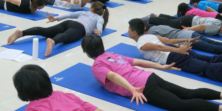 Pilates班給上班族一個健康的體魄