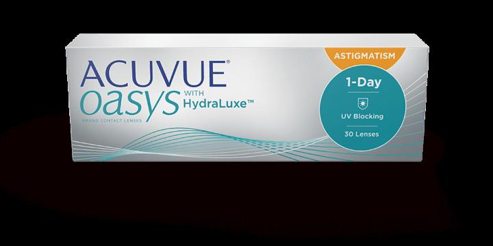 Acuvue oasys散光眼鏡配鏡可解決散光問題